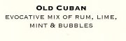 old cuban