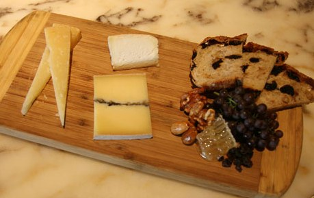 real cheese plate